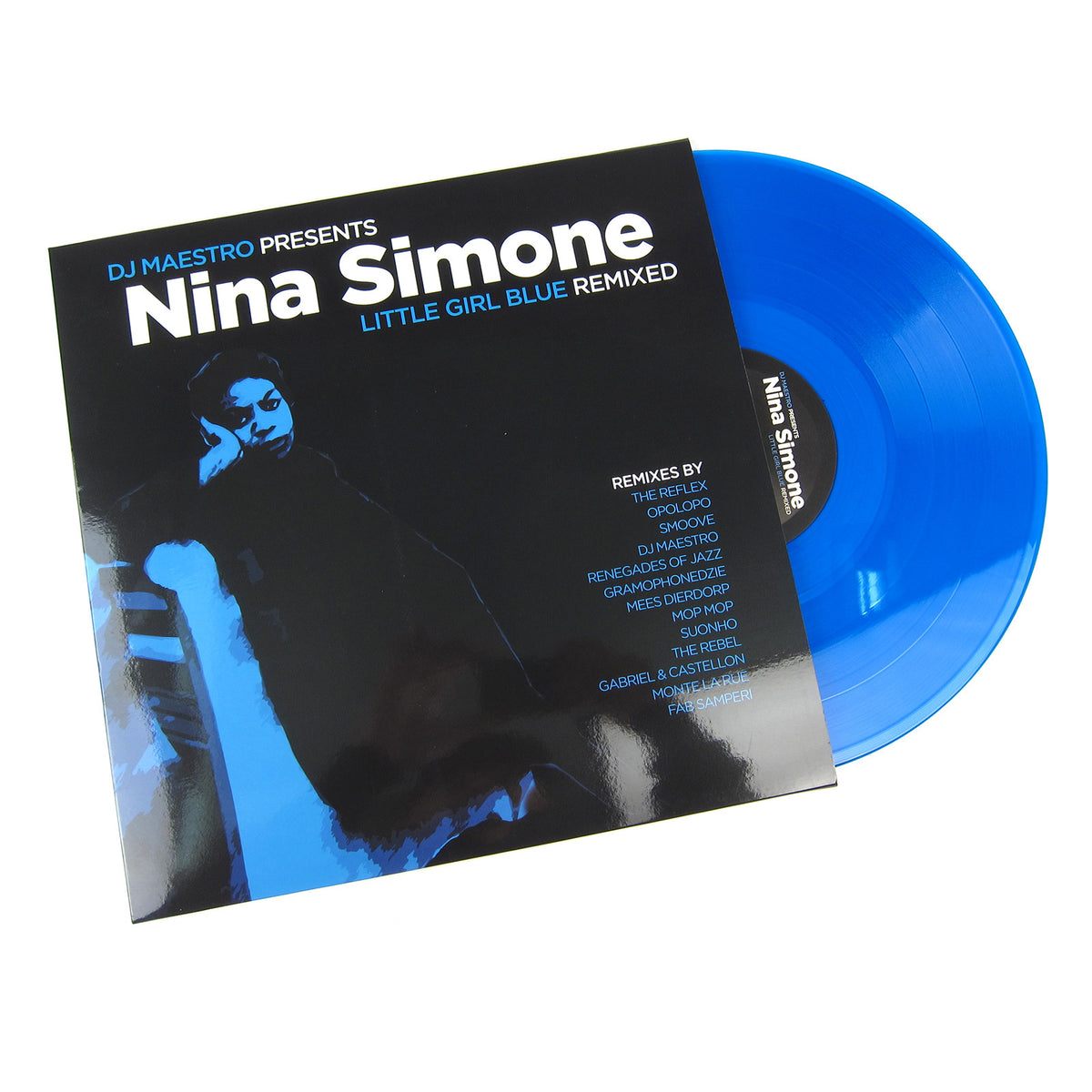 Nina Simone: DJ Maestro Presents Little Blue Girl Remixed (Colored Vinyl, 180g) Vinyl LP
