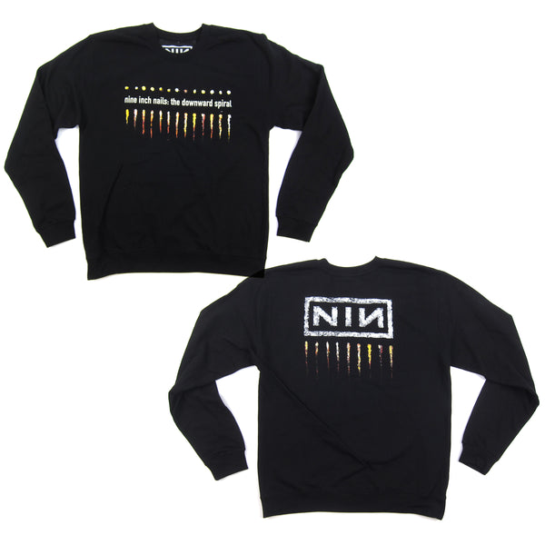Nine Inch Nails: Downward Spiral Sweatshirt - Black