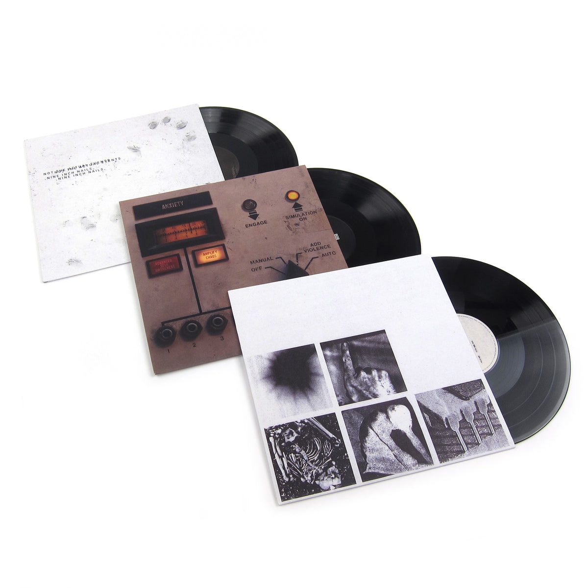 Nine Inch Nails: 2016-2018 Trilogy Vinyl LP Album Pack