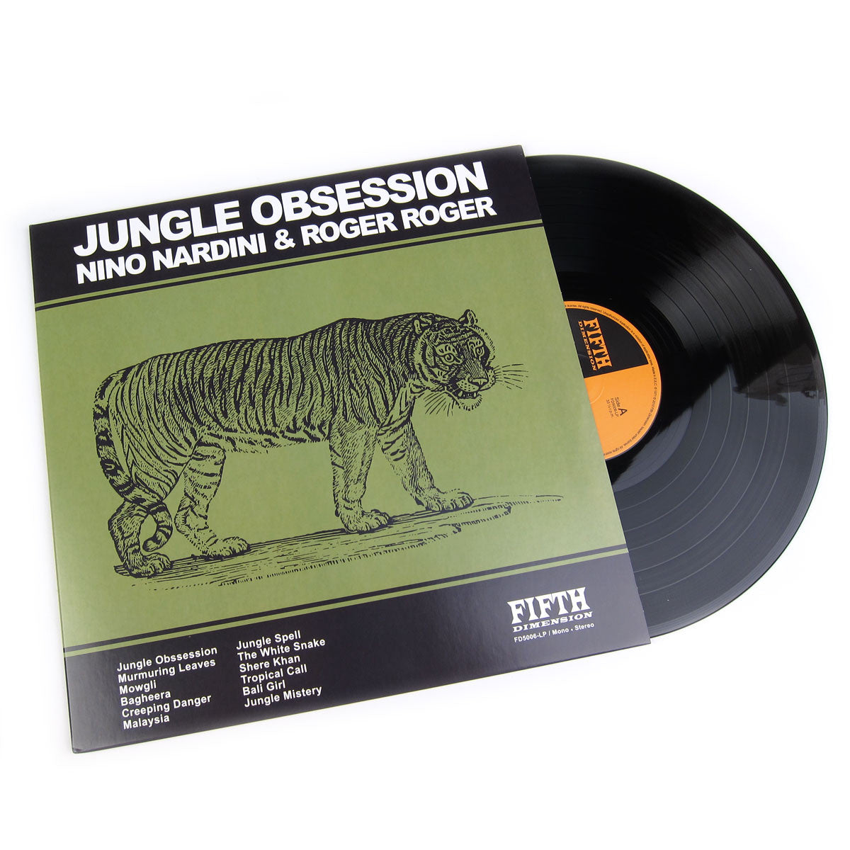 Nino Nardini & Roger Roger: Jungle Obsession Vinyl LP