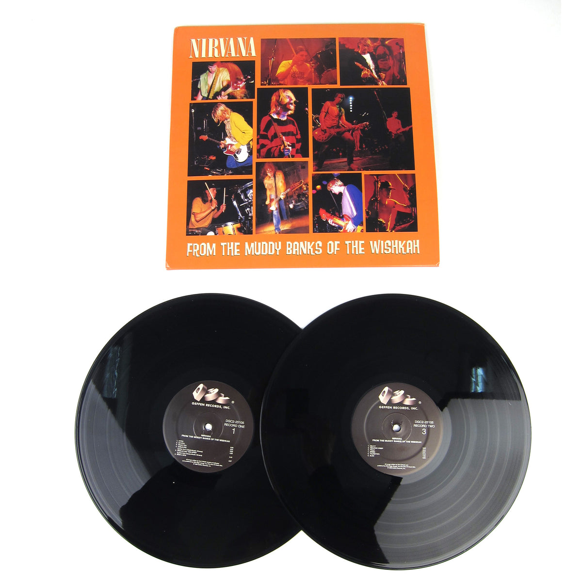 Nirvana: From The Muddy Banks Of The Wishkah Vinyl 2LP