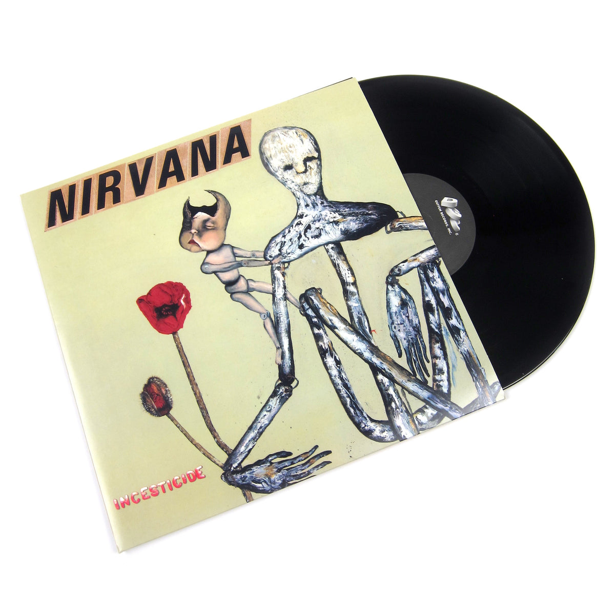 Nirvana: Incesticide (180g, 45rpm) Vinyl 2LP