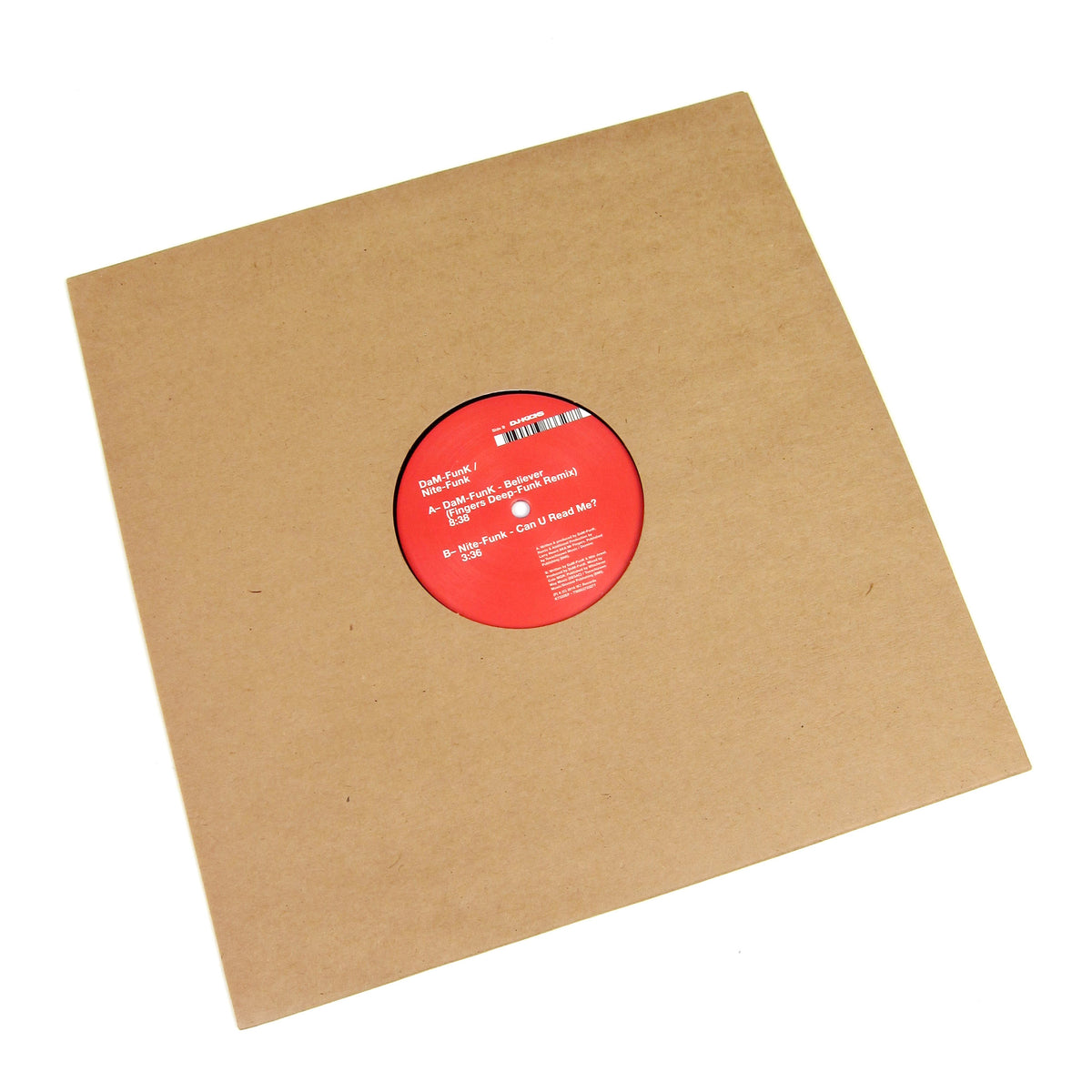DaM-Funk / Nite-Funk: Believer (Mr. Fingers Remix) Vinyl 12""