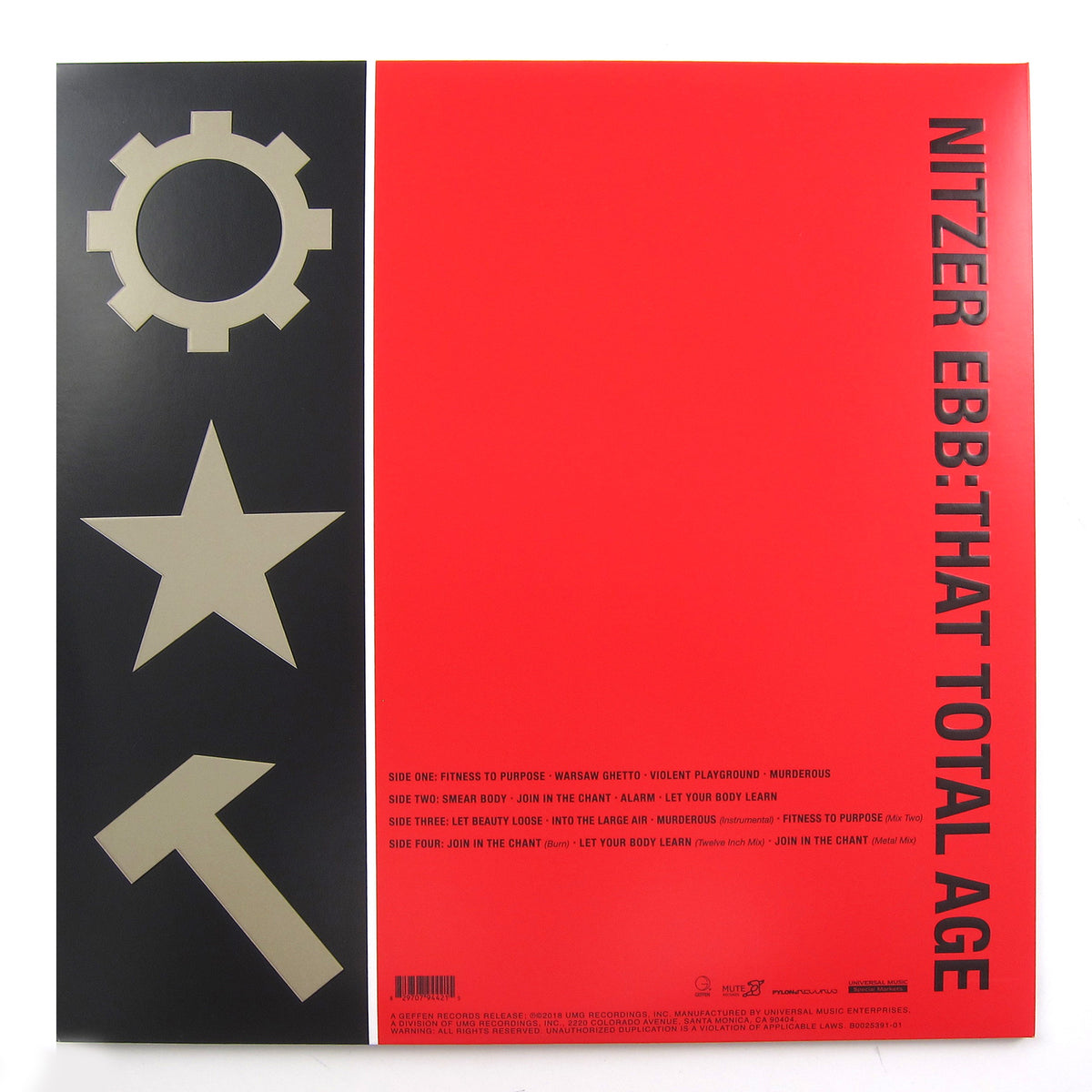 Nitzer Ebb: That Total Age (Colored Vinyl) Vinyl 2LP (Record Store Day)