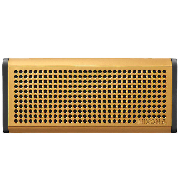 Nixon: Blaster Pro Bluetooth Speaker - Gold / Black