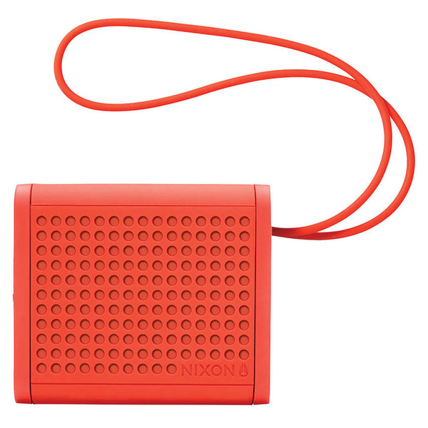 Nixon: Mini Blaster Bluetooth Speaker - Red Pepper