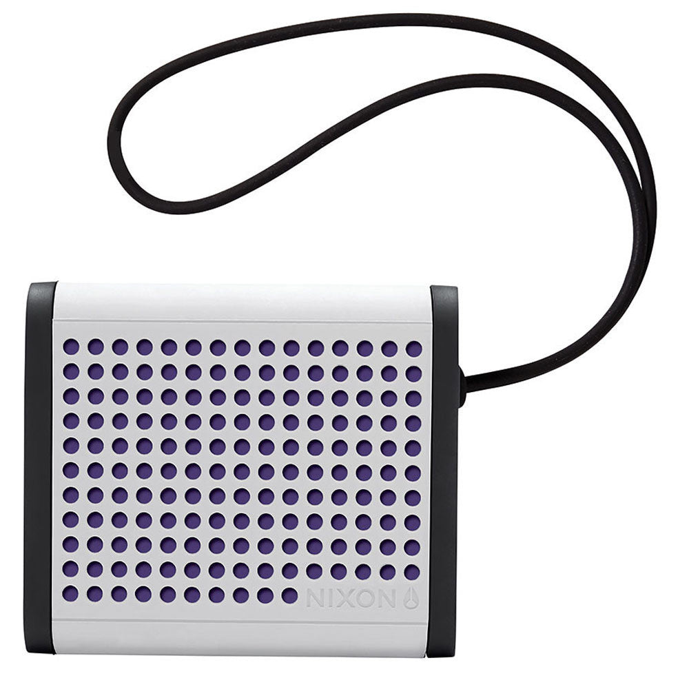 Nixon: Mini Blaster Bluetooth Speaker - White / Black / Purple