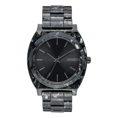 Nixon: Time Teller Acetate Watch - Black / Silver / Multi