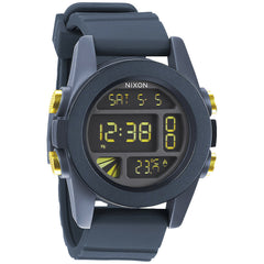Nixon: Unit Watch - Steel Blue / Yellow Ano