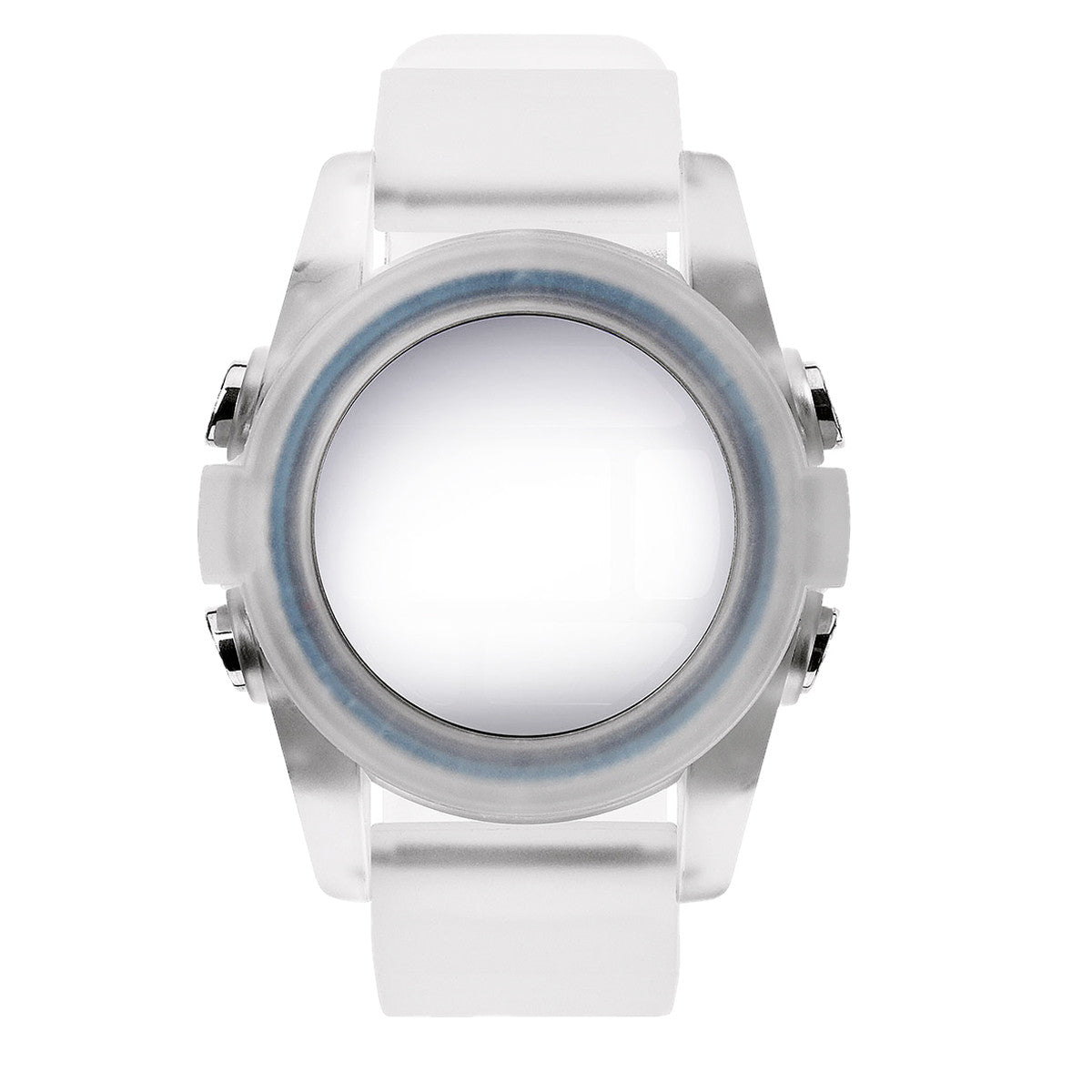 clear watches product lyst in time translucent metallic nixon watch accessories normal small teller gallery