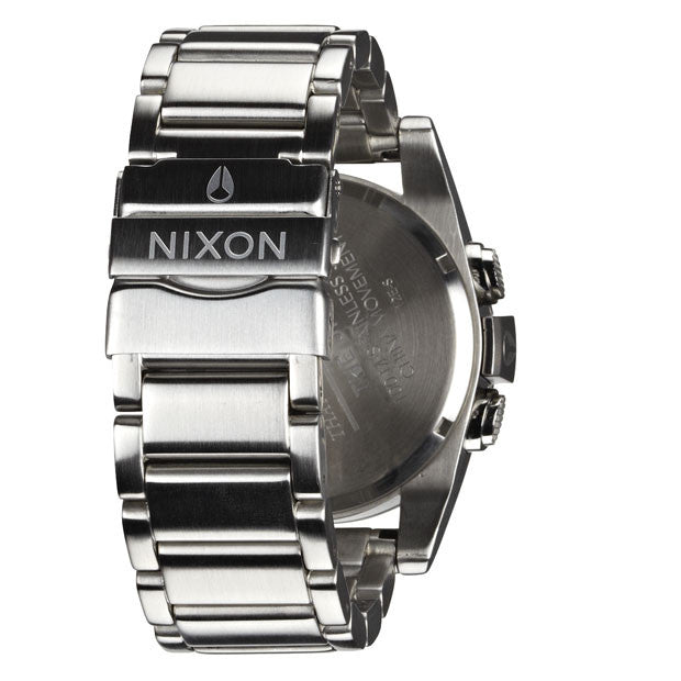 Nixon: Unit SS Watch - Silver / Red back