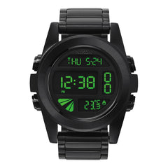 Nixon: Unit SS Watch - All Black / Green