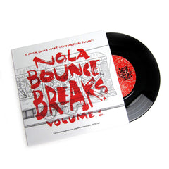 Superjock Records: Nola Bounce Breaks Vol.1 (DJ Yamin, Quickie Mart & Tony Skratchere) Vinyl 7""