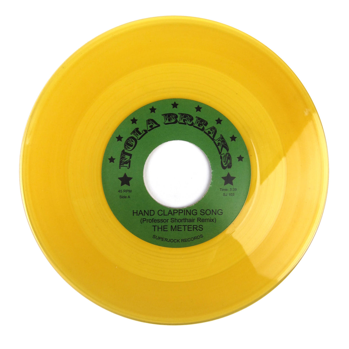 Professor Short Hair: Nola Breaks (The Meters, Ernie K-Doe, Colored Vinyl) Vinyl 7""