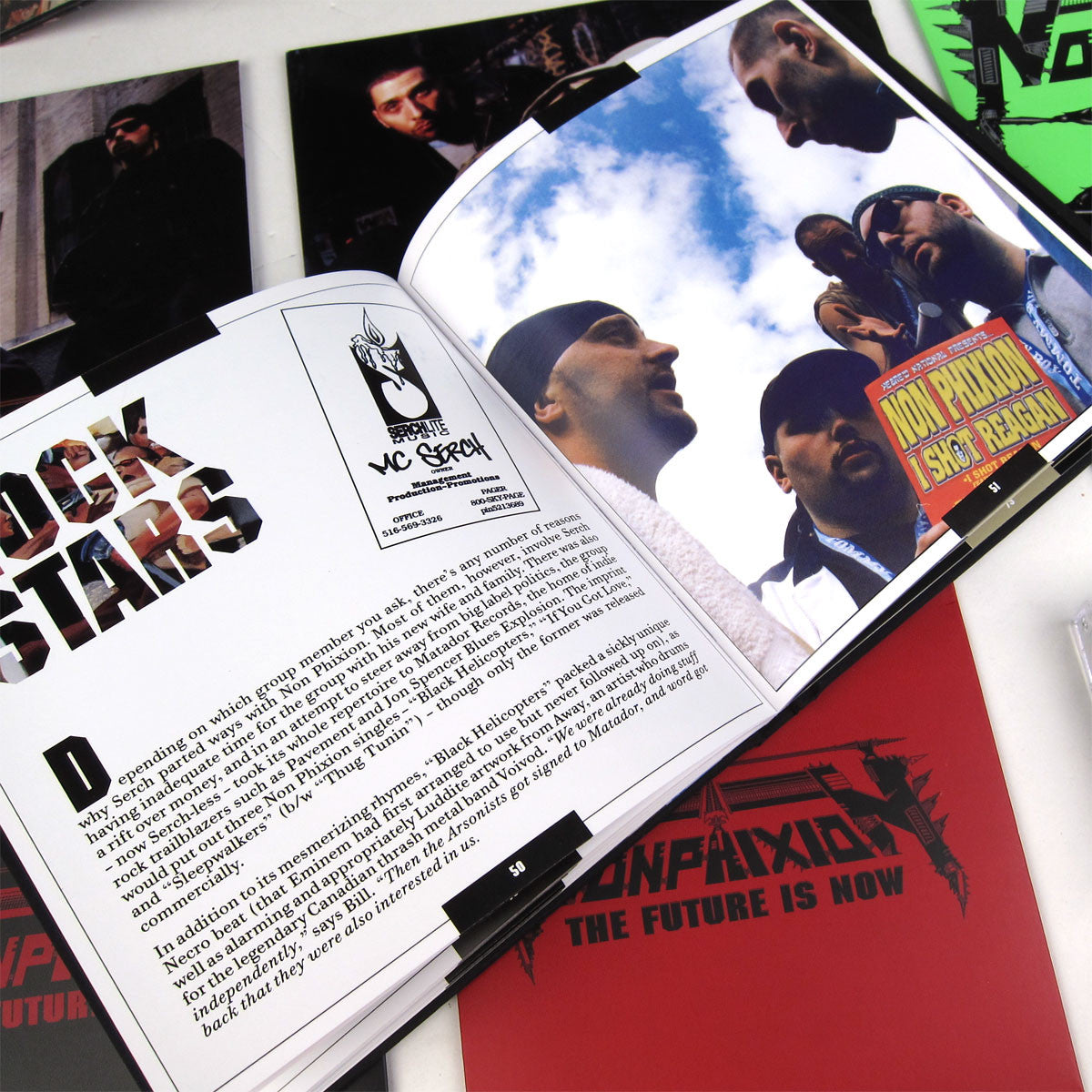 Non Phixion: The Future Is Now Premium Edition Boxset book