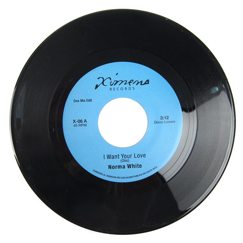 Norma White / Skatalites: I Want Your Love / Ceiling Bud Vinyl 7""