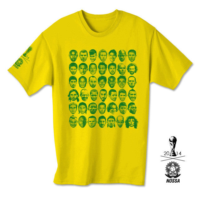 Nossa: World Cup 2014 Shirt - Yellow