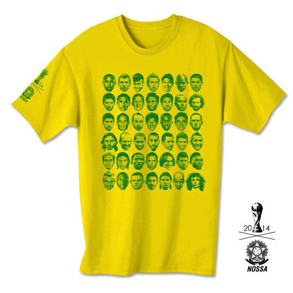 Nossa: World Cup 2014 Shirt - Yellow (Pre-Order)