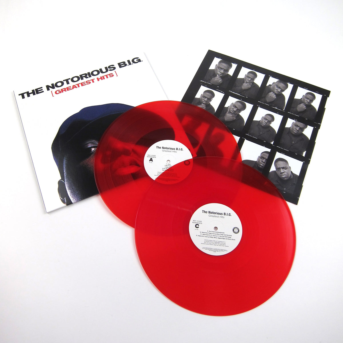 The Notorious B.I.G.: Greatest Hits (RSC Indie Exclusive Colored Vinyl) Vinyl 2LP