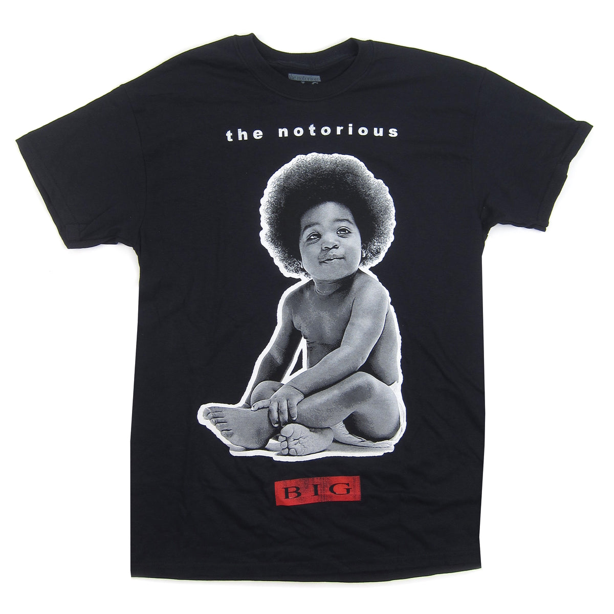 Notorious B.I.G.: Baby Shirt - Black