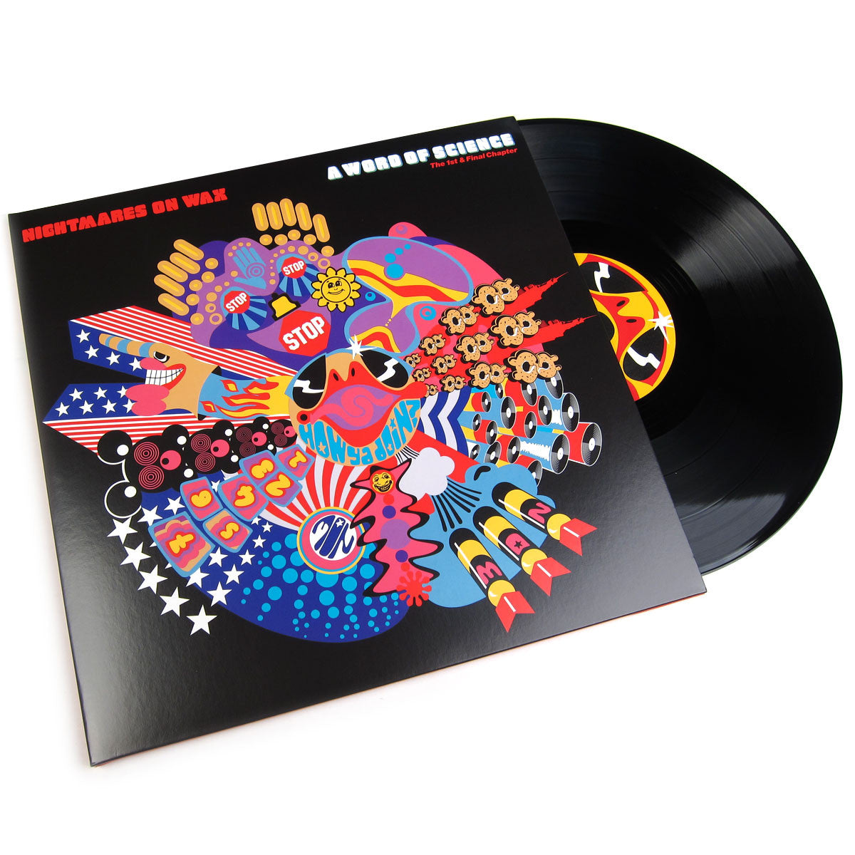Nightmares On Wax: A Word Of Science - The 1st & Final Chapter (Free MP3) Vinyl 2LP