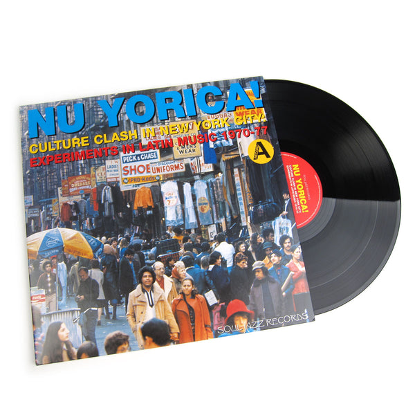 Soul Jazz Records: Nu Yorica! Culture Clash In New York City - Experiments In Latin Music 1970-77 Vol.1 Vinyl 2LP