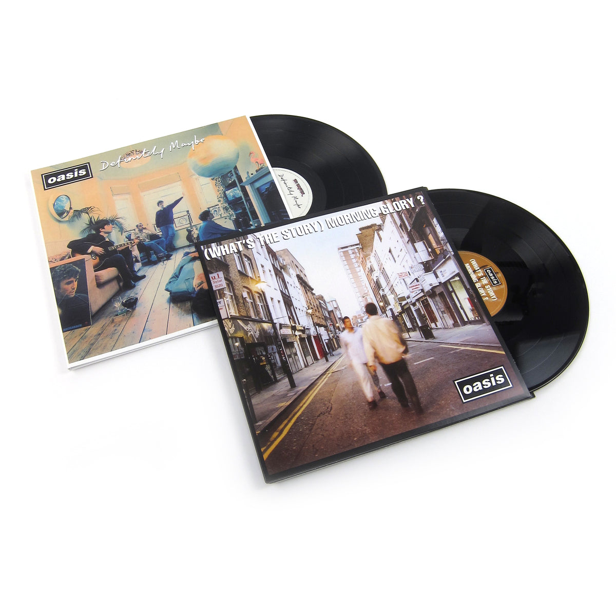 Oasis: Vinyl LP Album Pack (Definitely Maybe, What's The Story Morning Glory?)