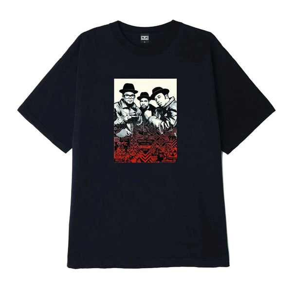 Obey: Glen E. Friedman Run DMC Shirt - Black