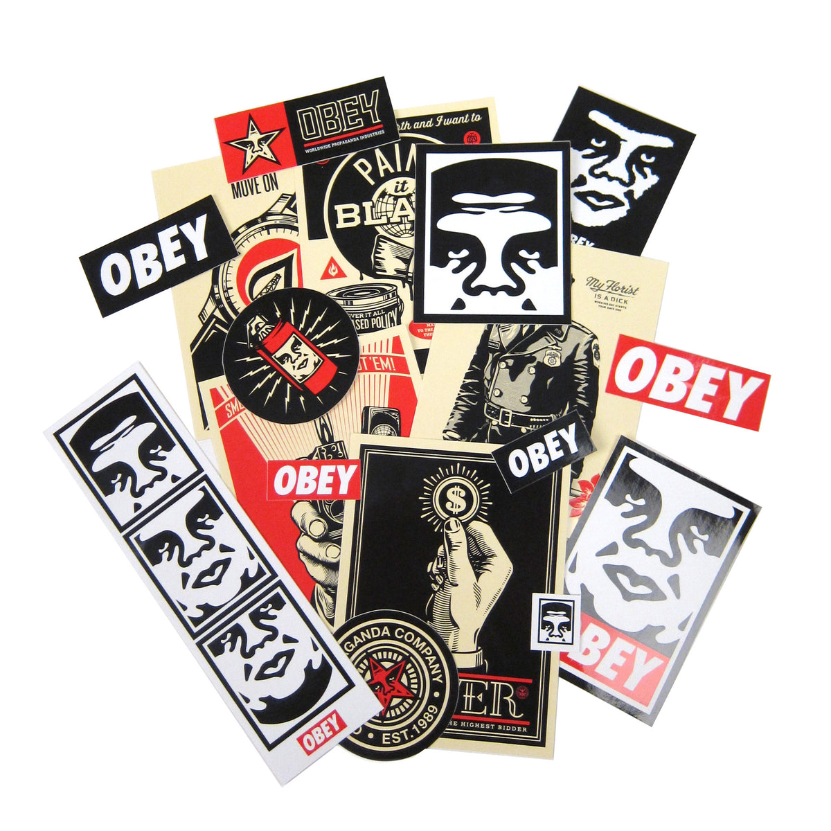 Obey: Obey Sticker Pack