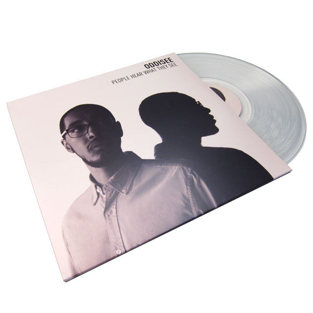 Oddisee: People Hear What They See 2LP clear
