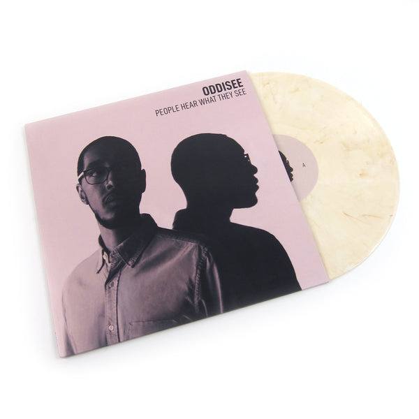 Oddisee: People Hear What They See (Dover White Colored Vinyl) Vinyl 2LP