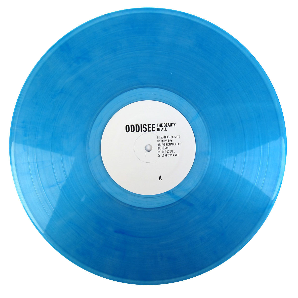 Oddisee: The Beauty In All (Free MP3 + Colored Vinyl) LP blue