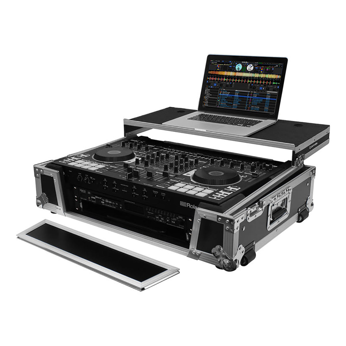 Odyssey: Flight Zone Case for Roland DJ-808 / Denon MC7000 (FZGSDJ808W2)