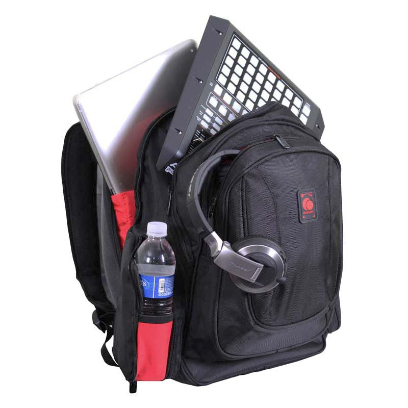 Odyssey: Redline Series Digital Gear DJ Backpack (BRLBACKTRAK) detail 2