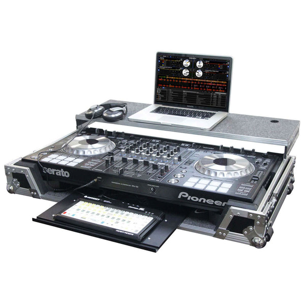 Odyssey: Black Label Pioneer Glide Style Case With Glide Tray For Pioneer DDJ-SZ (FZGSPIDDJSZGTBL)