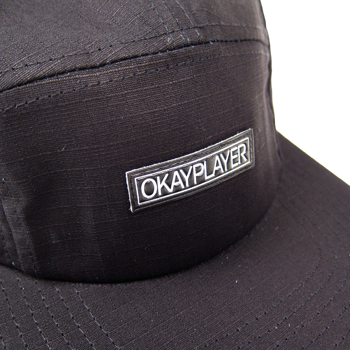 Okayplayer: Ripstop 5 Panel Camper - Black