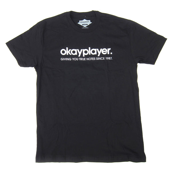 Okayplayer: Logo Shirt - Black