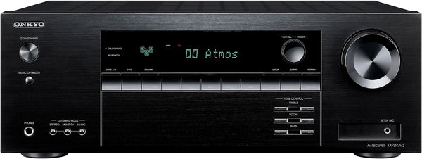 Onkyo: Onkyo TX-SR393 5.2 Channel Receiver w/Bluetooth