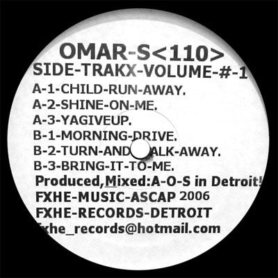Omar-S: Side-Trakx-Volume #1 EP