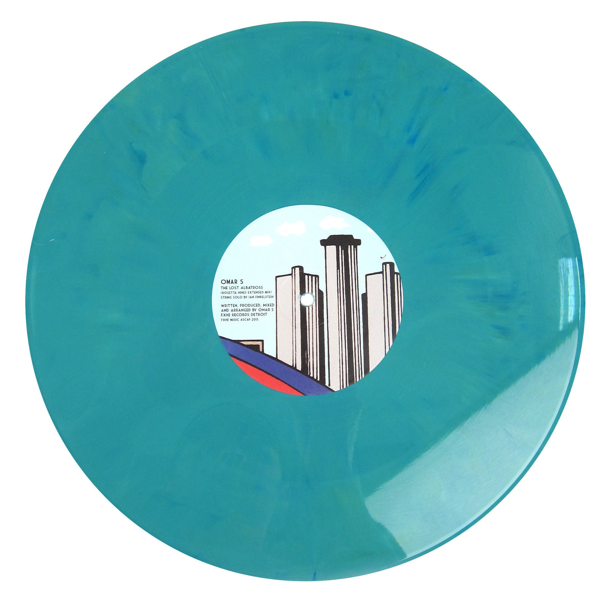 Omar-S: Side Trakx Vol.4 Vinyl 12""