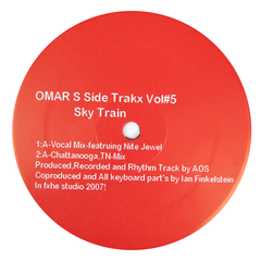 Omar-S: Side Trakx Vol.5 Vinyl 12""