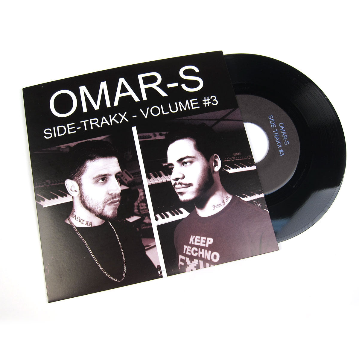 Omar-S: Side Trakx Volume #3 Vinyl 7""