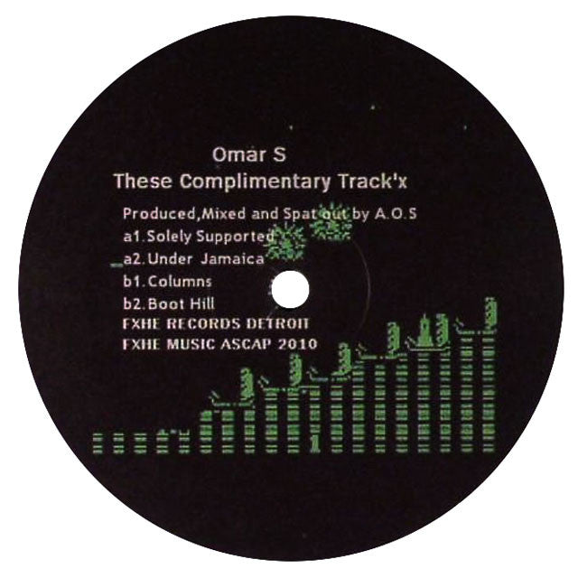 Omar-S: These Complimentary Track'x 12""