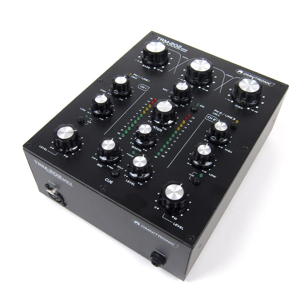 Omnitronic: TRM-202MK3 2-Channel Rotary Mixer