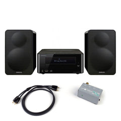 Onkyo: CS-265(B) Colibrino Mini Hi-Fi System + Phono Preamp Package