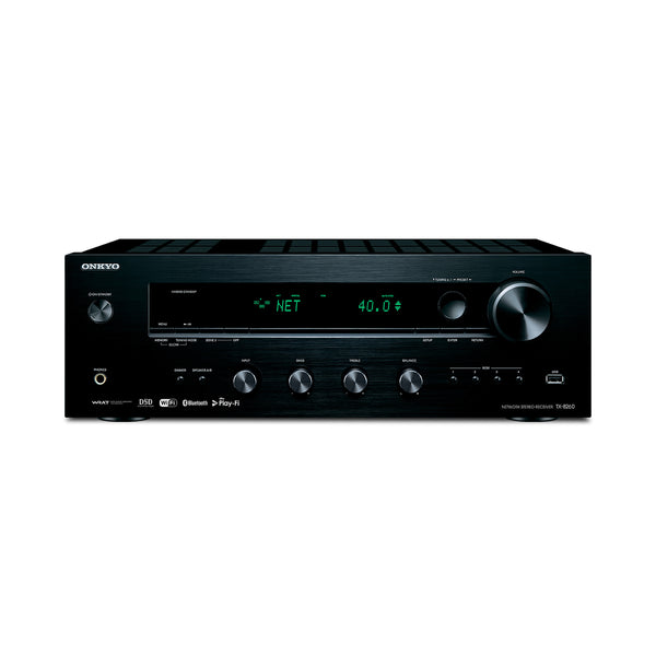 Onkyo: TX-8260 Network Stereo Receiver (Phono Input, Bluetooth)