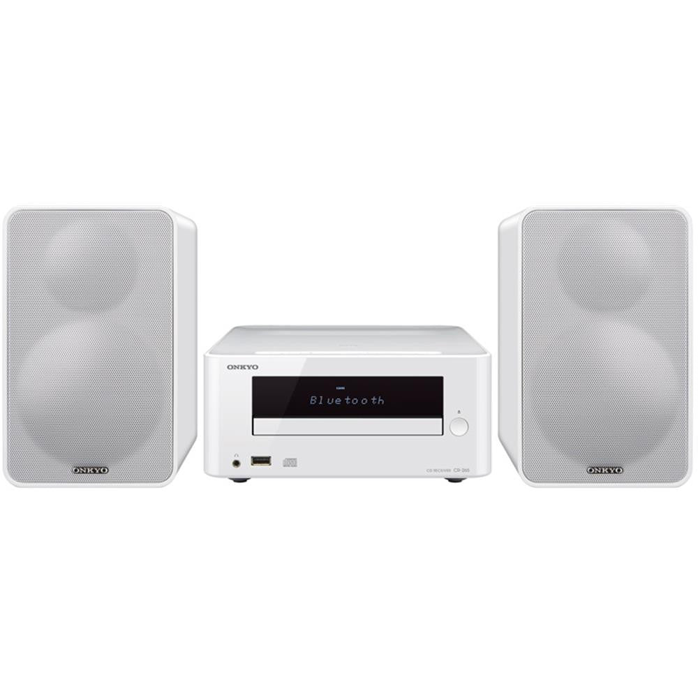 Onkyo: CS-265(W) Colibrino CD Hi-Fi Mini System with Bluetooth - White