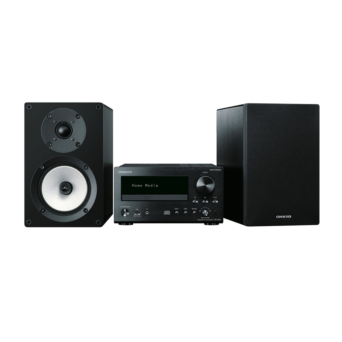 Onkyo: CS-N755 Network Hi-Fi Mini System