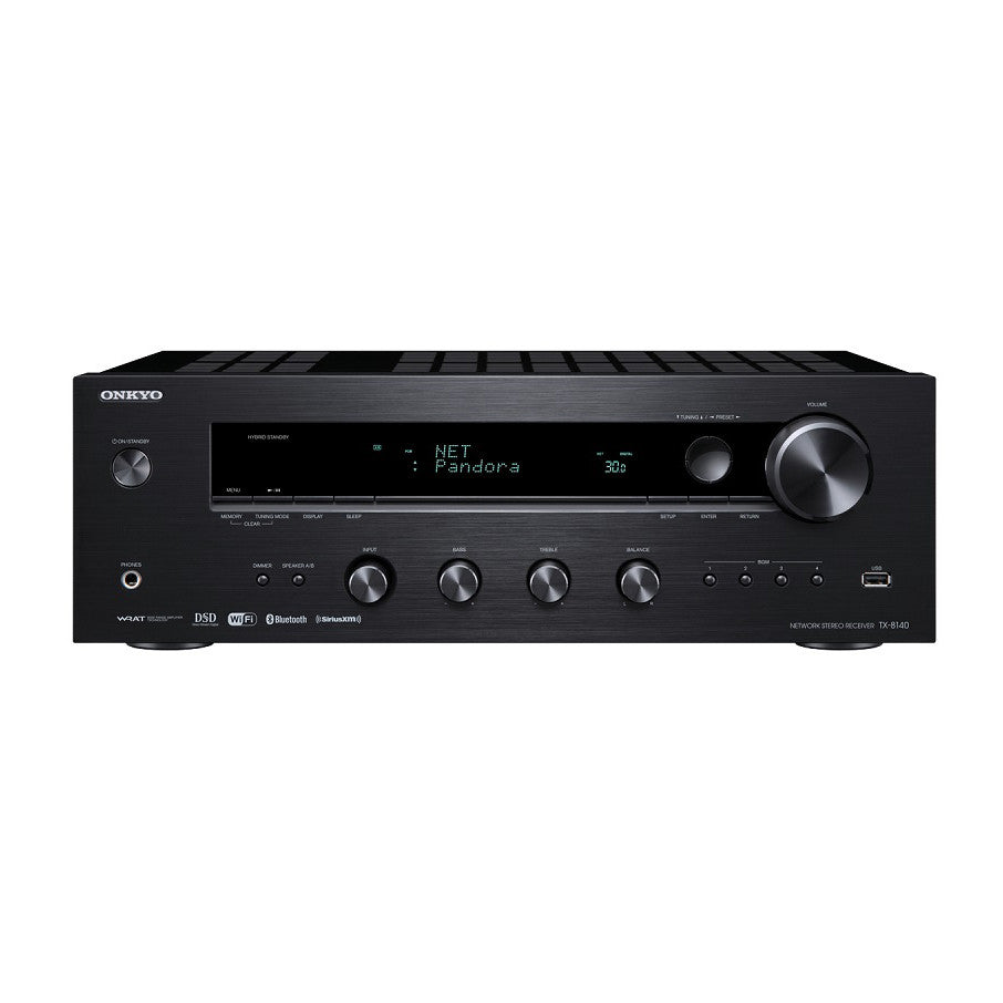 Onkyo tx 8140 network stereo receiver phono input for Stereo casa