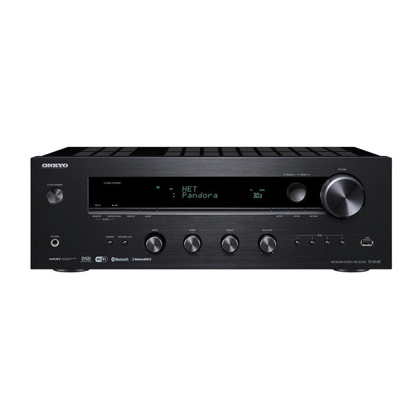 Onkyo: TX-8140 Network Stereo Receiver (Phono Input, Bluetooth)